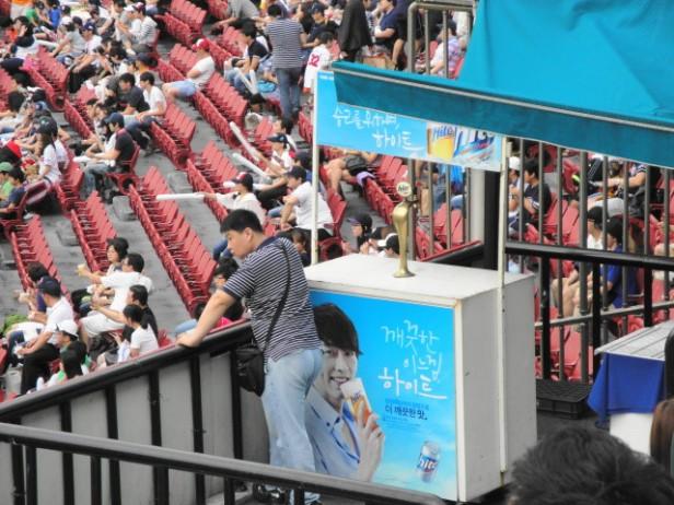 Baseball in Seoul Jamsil Stadium (1)