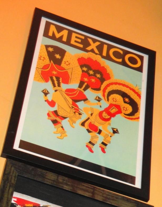 Dos Tacos Gangnam Seoul Mexico Poster