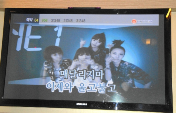 Gangnam Seoul Multibang Screen 2ne1