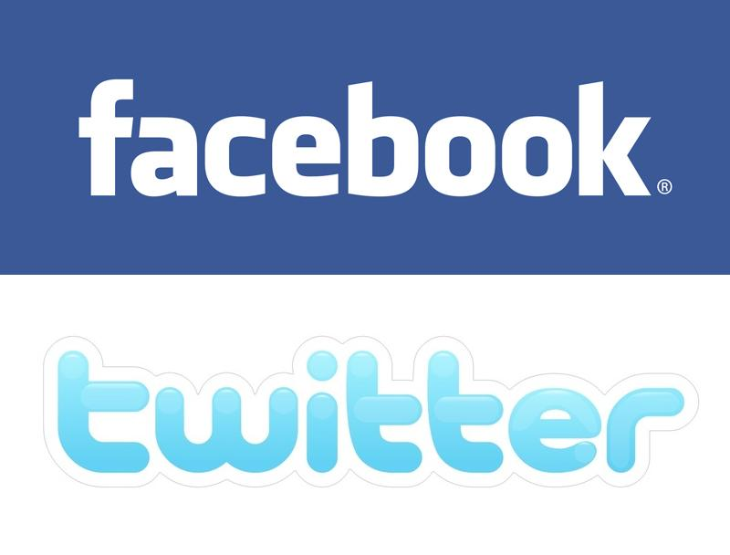 Follow Facebook Logo to Follow us on Twitter Please