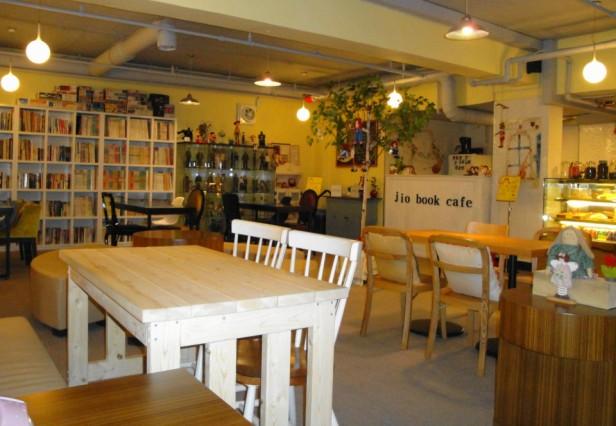 Jio Book Cafe Seoul inside space