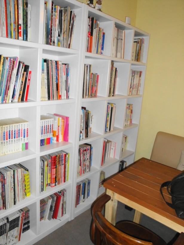 Jio Book Cafe Seoul many books
