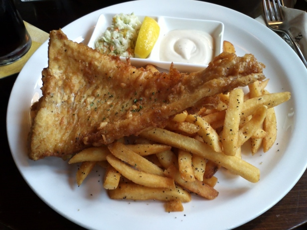 Baby Guinness Fish and Chips Itaewon 8