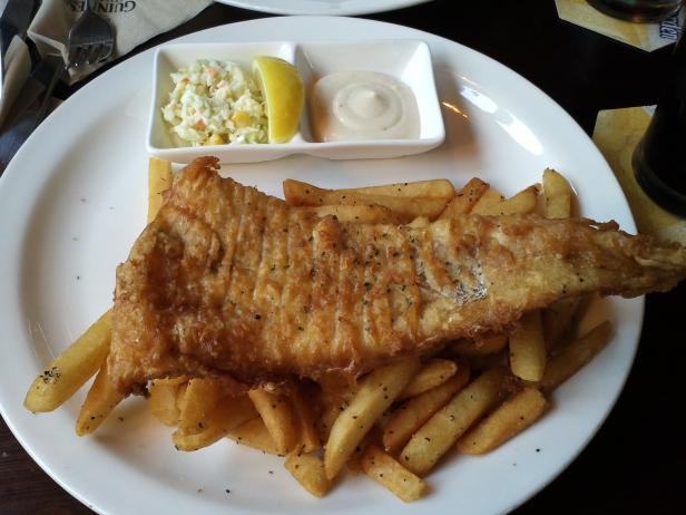 Baby Guinness Fish and Chips Itaewon 9
