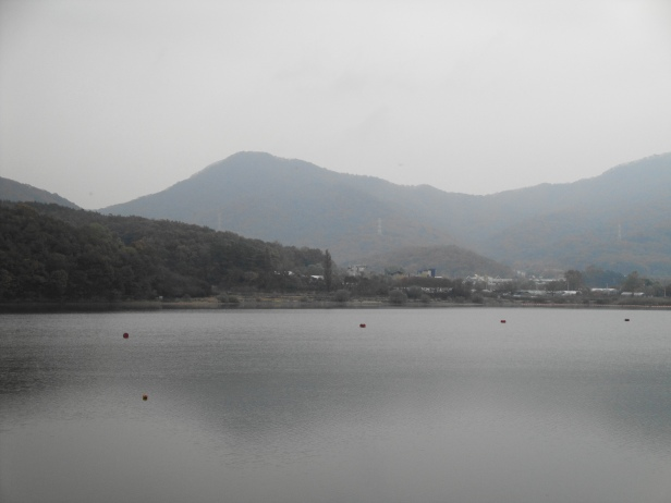 Baegun Lake in Uiwang