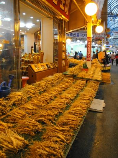 Ginseng at Anyang Market