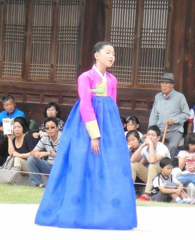 Hanbok Lunar New Year Girl Modern Seoul