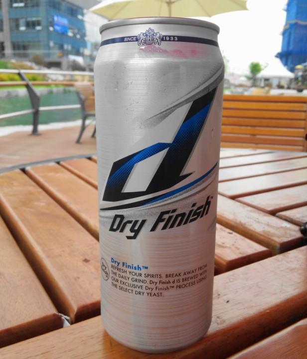 Hite Dry Finish South Korean Beer