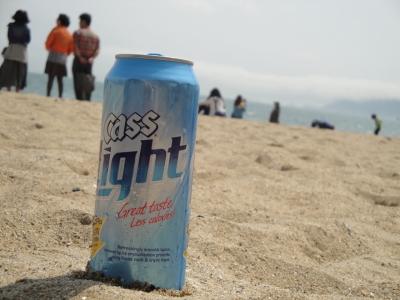 Modern Seoul Cass Light Korean Beer
