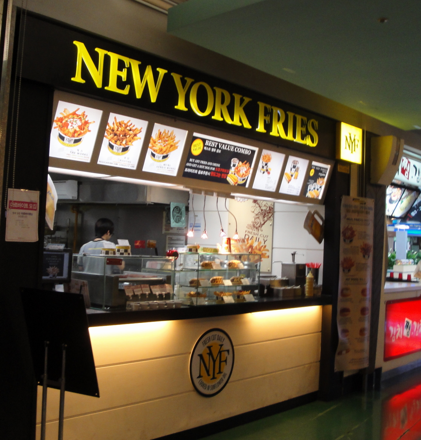 The Number Of Fast Food Restaurants In Manhattan New York