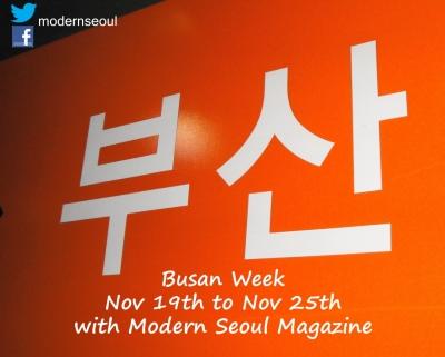 Busan Week Modern Seoul Magazine