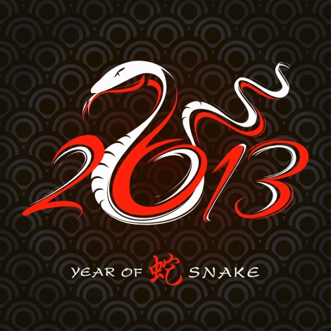 2013 Year of the Snake - happy new year Korea
