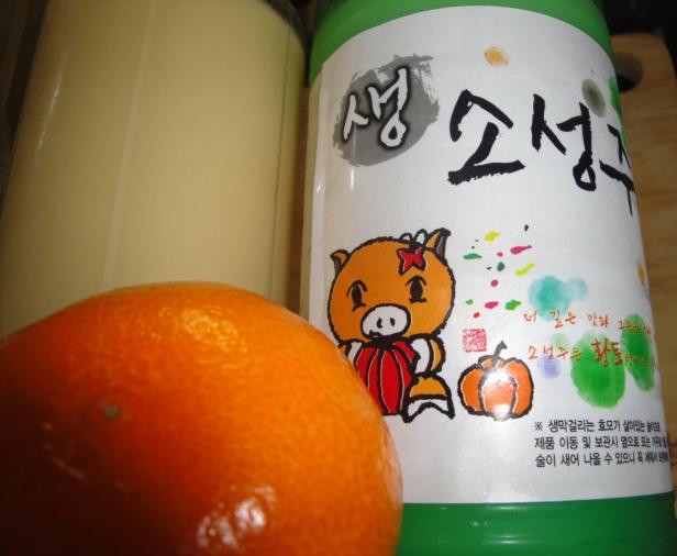 Orange Makkoli Recipe 3 - Modern Seoul