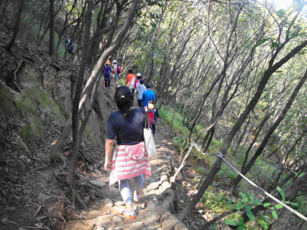 Gyeyang Mountain hiking