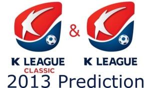 K League 2013 Prediction