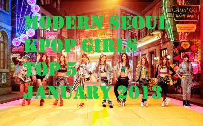 Modern Seoul Top 5 Jan 2013