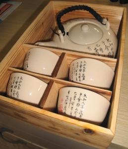 Soju Porcelain Pot and Cups - Gmarket 2