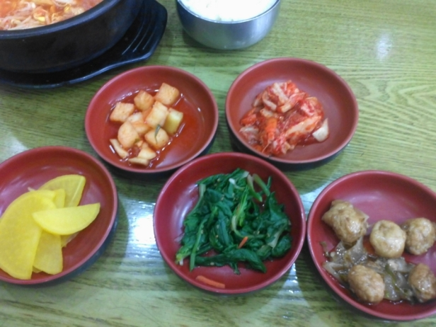 Sidedishes ^^ (반찬) - Always included with any order.