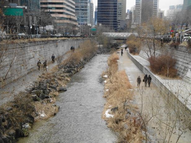 Cheonggyecheon Stream 1