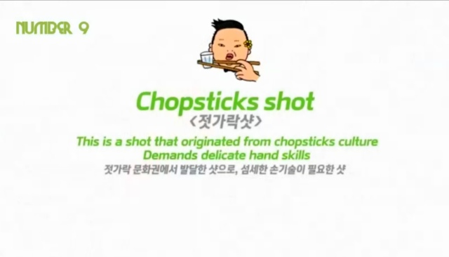 Chopsticks Shot