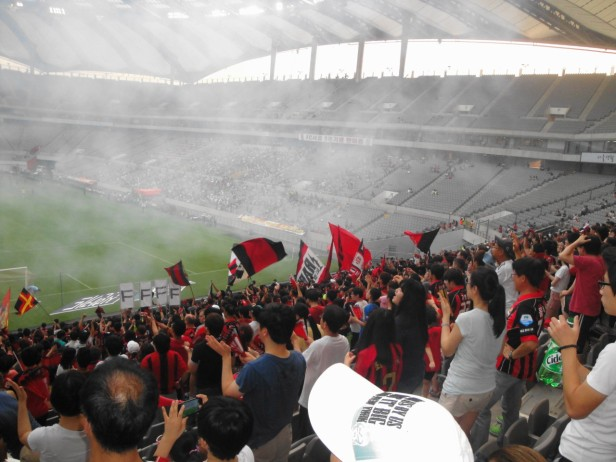 FC Seoul Fans Winning 2013