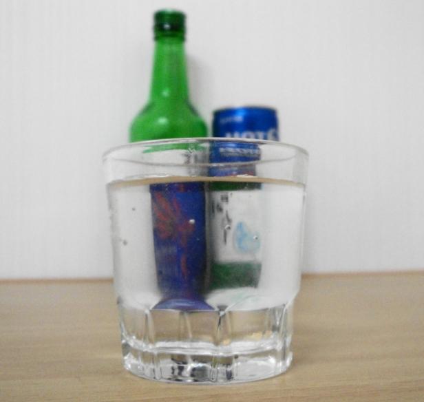 Hot 6ix Soju Shot Glass