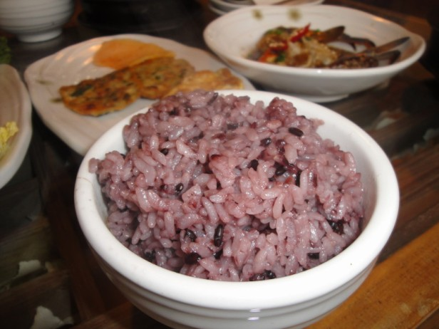 Purple or Black Korean Rice