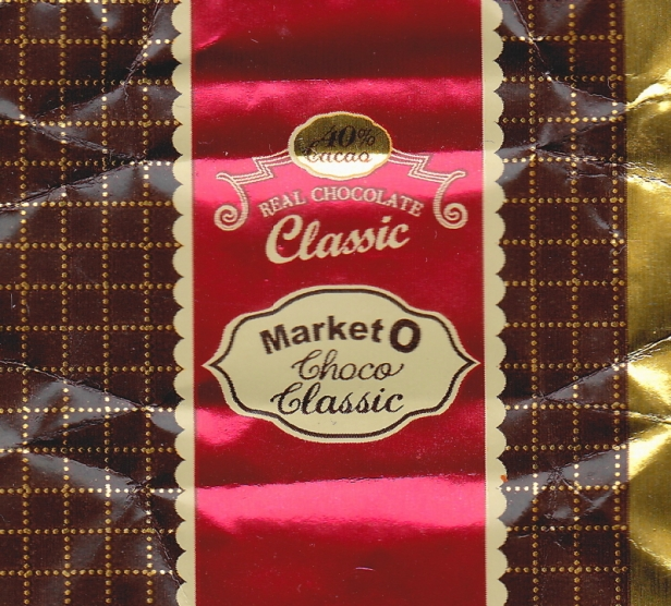 Market O Classic Mini Chocolate wrapper