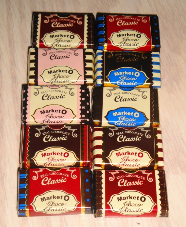 Market O Classic Mini Chocolates