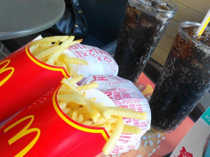 McDonald's Korea Big Mac Set