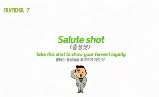 Salute Shot