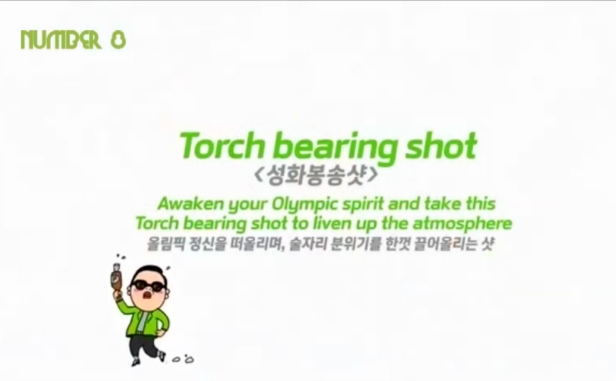 Torch Bearing Shot