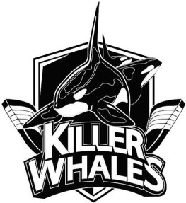 Daemyung Killer Whales Incheon South Korea Ice Hockey Badge
