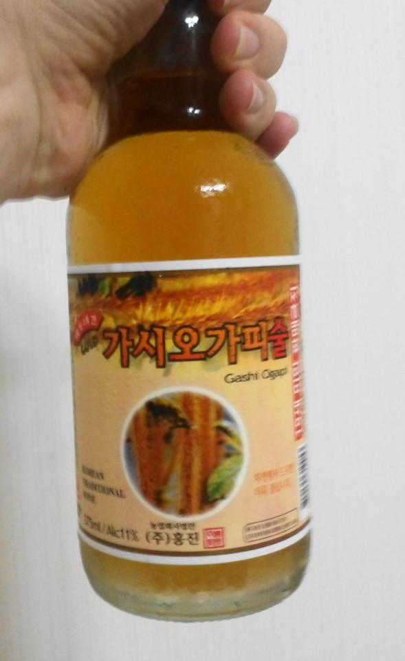 Gashi Ogapi Liquor - Siberian Ginseng Soju 1