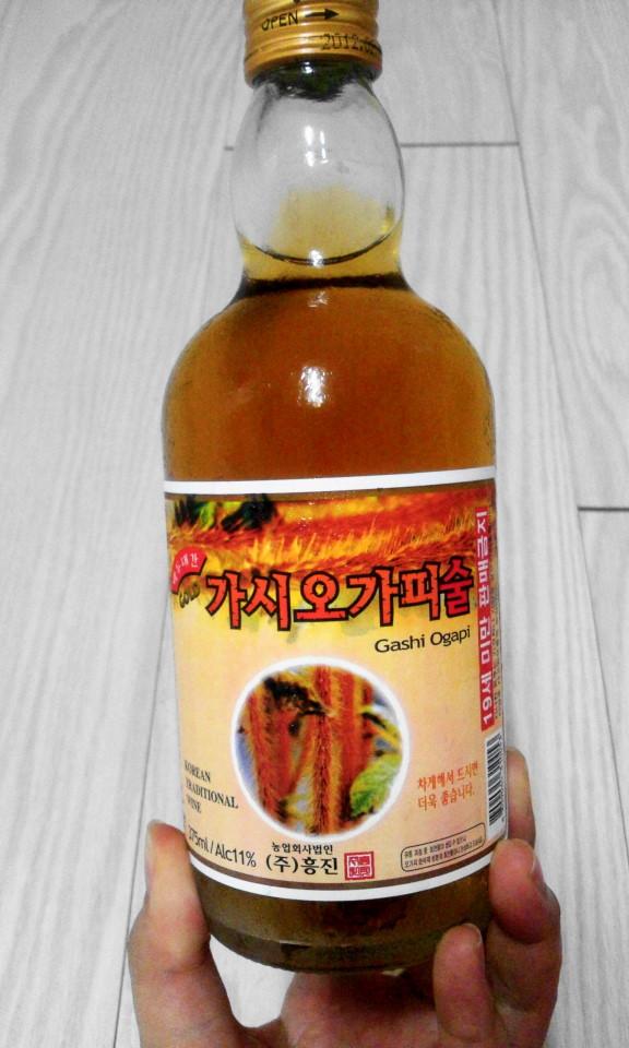 Gashi Ogapi Liquor - Siberian Ginseng Soju