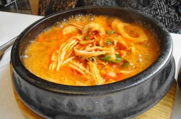 Kimchi Soup (jjigae)