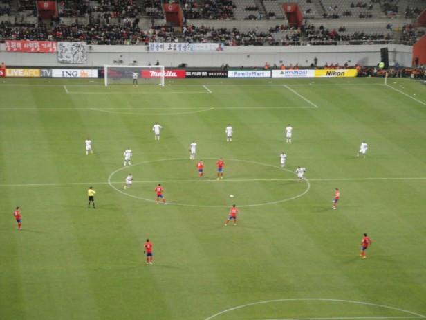 South Korea vs. Qatar - Action 1