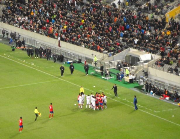 South Korea vs. Qatar - Fight