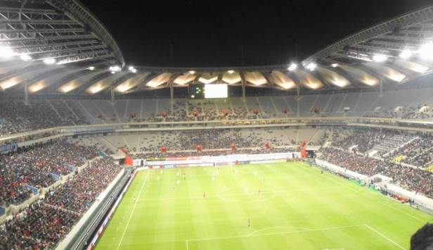 South Korea vs. Qatar - Wide Action