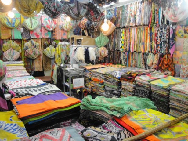 Dongdaemun Fashion Market Scarfs
