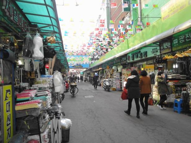 Dongdaemun Fashion Market Seoul Outside