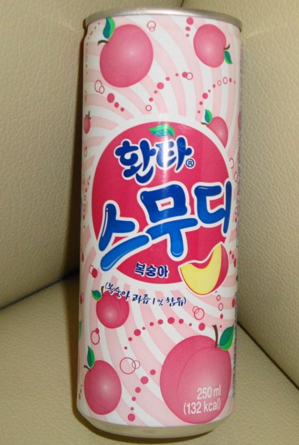 Fanta Peach Smoothie Korean Soda 1