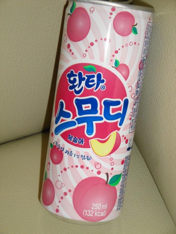 Fanta Peach Smoothie Korean Soda 2