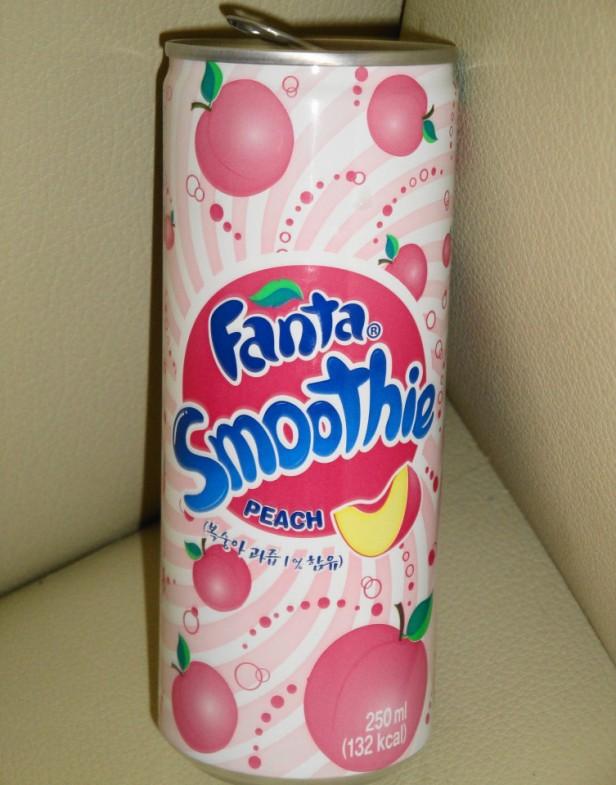 Fanta Peach Smoothie Korean Soda 3