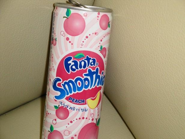 Fanta Peach Smoothie Korean Soda 4