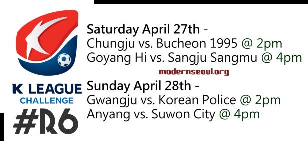 K League Challenge 2013 Round 6