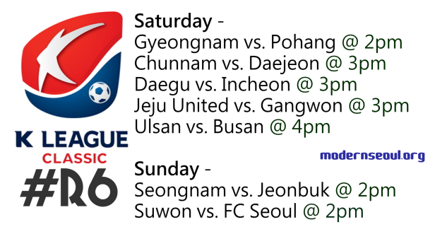 K League Classic 2013 Round 6