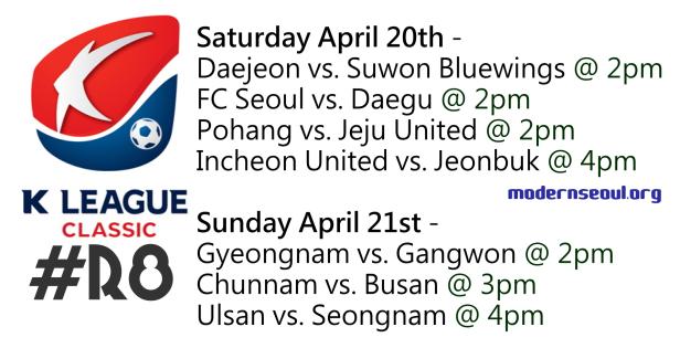 K League Classic 2013 Round 8