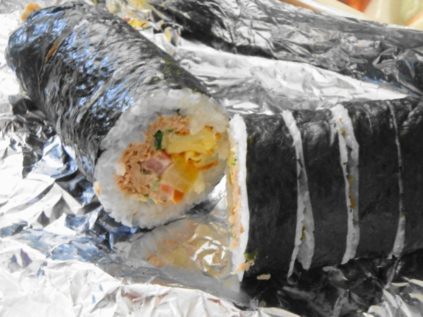Korean Delivery Food Kimbap 1