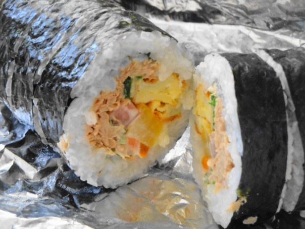 Korean Delivery Food Kimbap
